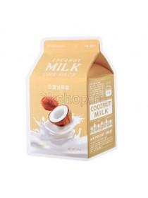 A'peiu Coconut Milk One-Pack Тканевая увлажняющая маска с экстрактом кокоса