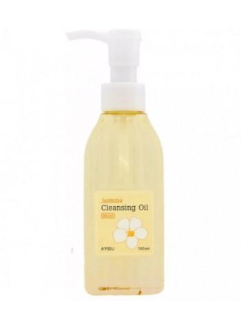 Увлажняющее гидрофильное масло с жасмином  A'PIEU Jasmine Cleansing Oil (Moist) 150мл