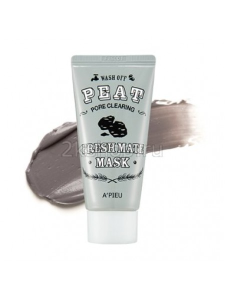 A'pieu Fresh Mate Peat Mask (Pore Clearing) Торфяная маска