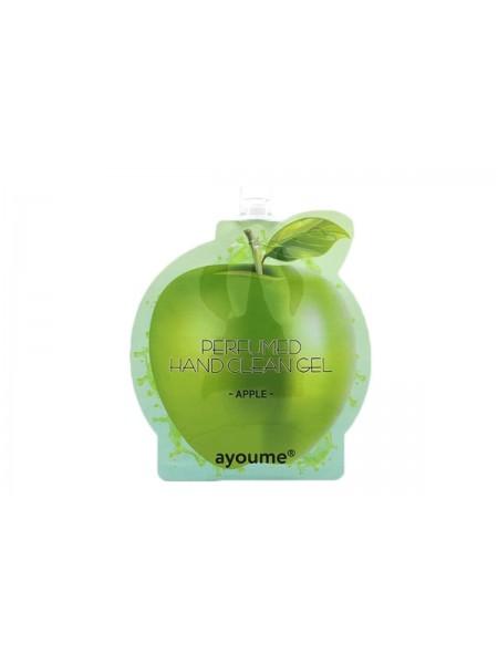Антибактериальный гель для рук Яблоко AYOUME Perfumed hand clean gel  [apple]