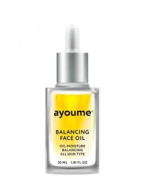 AYOUME Balancing Face oil with Sunflower Масло для лица восстанавливающее