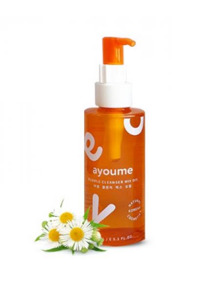 Гидрофильное масло-пенка для очищения и снятия макияжа Ayoume Bubble Cleanser Mix Oil