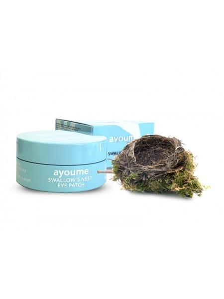 Ayoume Swallow's Nest Eye Patch Гидрогелевые патчи для глаз с экстрактом ласточкиного гнезда