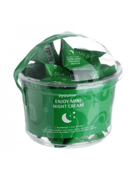 AYOUME MINI Крем для лица ночной AYOUME ENJOY MINI NIGHT CREAM 3гр*30