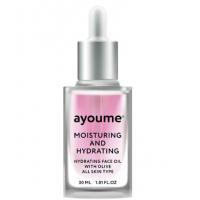 Увлажняющее масло для лица с оливой AYOUME Moisturing-&-Hydrating Face oil with Olive