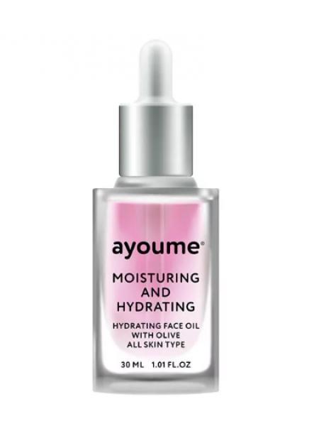 AYOUME Moisturing-&-Hydrating Face oil with Olive  Увлажняющее масло для лица с оливой