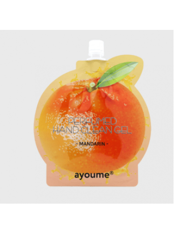 Антибактериальный гель для рук  мандарин AYOUME Perfumed hand clean gel [mandarin]