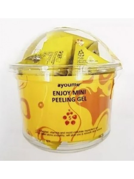 Пилинг гель для лица в пакетиках AYOUME ENJOY MINI PEELING GEL 3гр*30