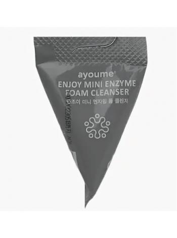 Энзимная пенка для умывания  в пирамидке ENJOY MINI ENZYME FOAM CLEANSER 3г