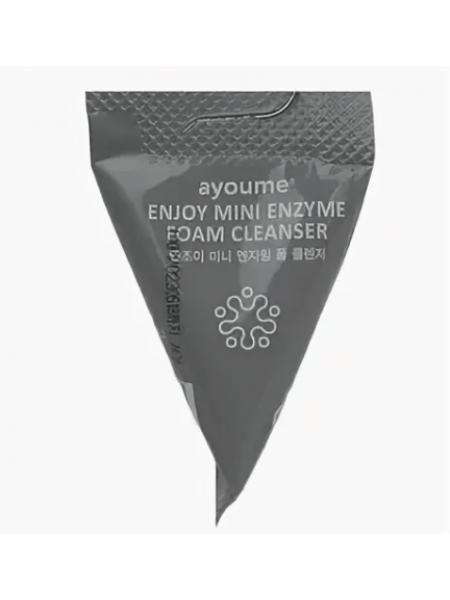 Энзимная пенка для умывания  в пирамидке ENJOY MINI ENZYME FOAM CLEANSER 3грамма