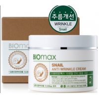 Biomax  Крем  с экстрактом слизи улитки Snail Anti-Wrinkle Cream