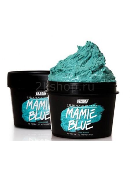 B&SOAP Fresh Wash Off Pack Mamie Blue Увлажняющая глиняная маска