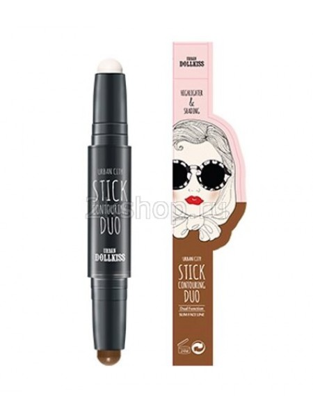 Baviphat Urban Dollkiss Urban City Stick Contouring Duo Контурный стик