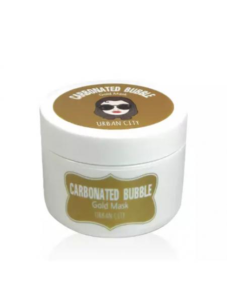 Baviphat Urban City Carbonated Bubble Gold Mask Маска для лица глиняно-пузырьковая с золотом
