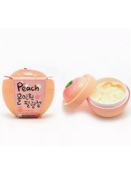 Baviphat Peach All-in-one Peeling Gel  Пилинг-скатка для лица
