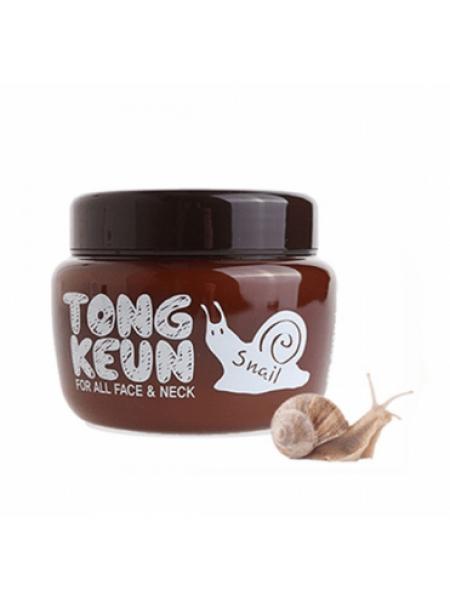 Крем с экстрактом слизи улитки BAVIPHAT Urban Dollkiss Tongkeun Snail Cream
