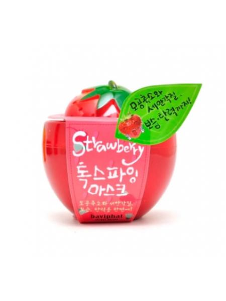 Baviphat Strawberry Strawberry Detoxifying Mask  Клубничная очищающая и сужающая поры  маска