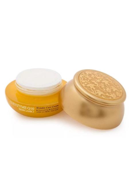 Bergamo Coenzyme Q10 Wrinkle Care Cream Антивозрастной крем для лица с коэнзимом Q10