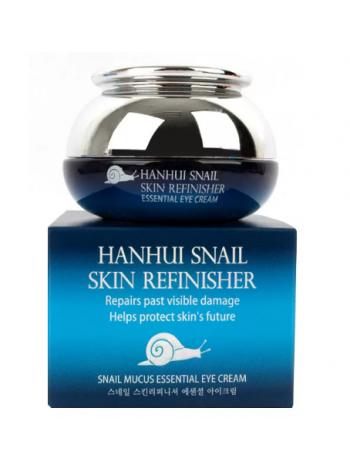Bergamo Hanhui Snail Skin Refinisher Essential Cream Улиточный крем для защиты кожи от внешних воздействий