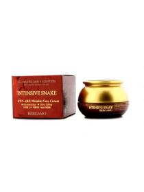 Bergamo Intensive Snake Syn Ake Wrinkle Care Cream Антивозрастной крем с экстрактом змеиного яда