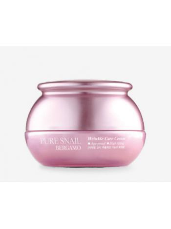 Антивозрастной улиточный крем для лица Bergamo Pure Snail Wrinkle Care Cream