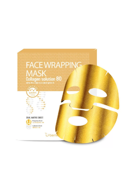 Berrisom Face Wrapping Mask Collagen Solution 80  Маска для лица FW с коллагеном