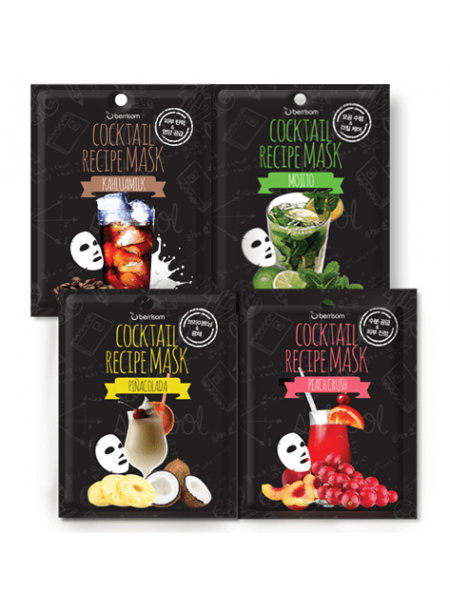 Berrisom Cocktail Recipe Mask Тканевая маска для лица