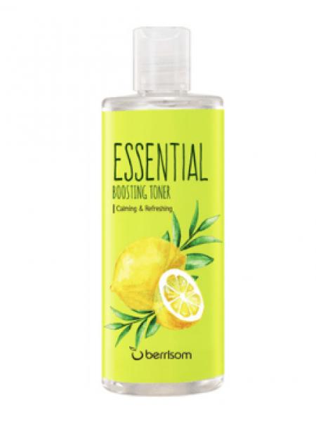 Увлажняющий тонер для лица с чайным деревом и лимоном Berrisom Essential Boosting Toner TeeTree & Lemon