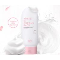 Berrisom G9 White In Creamy Pack Маска для лица и тела осветляющая