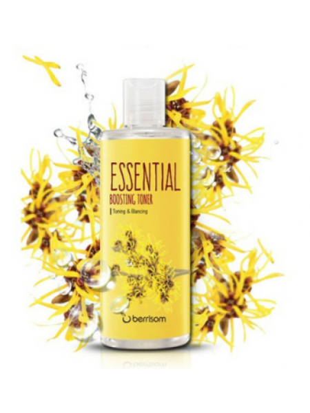 Berrisom Essential Boosting Toner - Witch Hazel Тонер для лица с гамамелисом