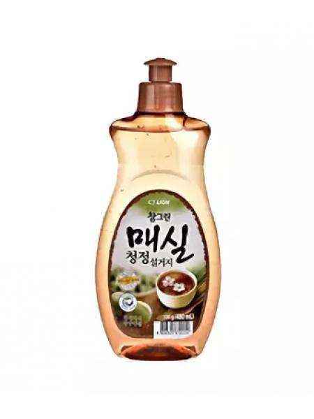 CJ Lion Chamgreen Средство для мытья посуды, овощей и фруктов Японский абрикос