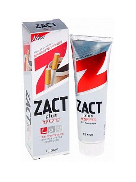 CJ LION Zact Зубная паста с эффектом отбеливания кофейного и никотинового налета