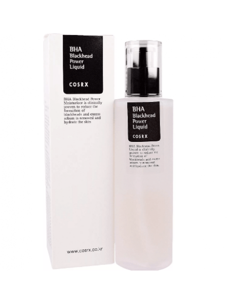 CosRX BHA Blackhead Power Liquid Эссенция с BHA-кислотами против угрей