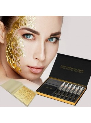 ELLEVON Премиум Золотая Терапия  Антивозрастная программа Premium Gold Therapy