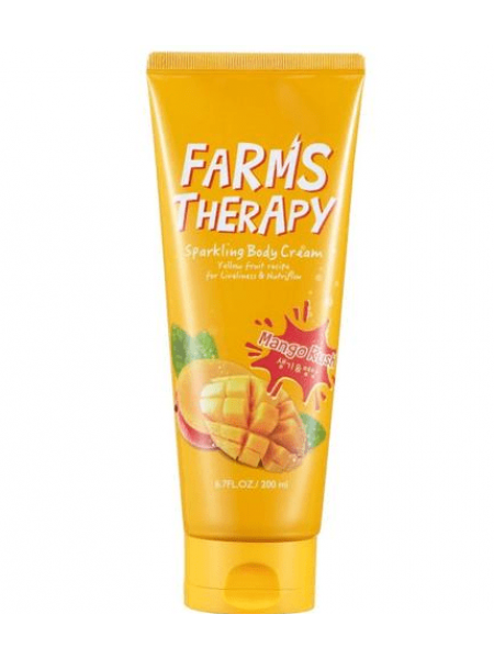 Farms therapy Sparkling Body Cream Mango Крем для тела Манго