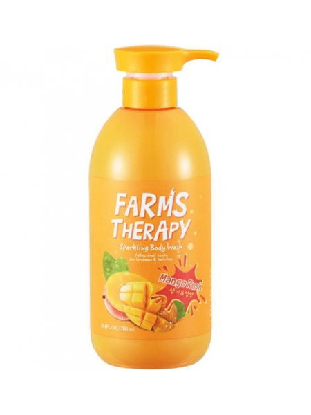 Farms therapy Sparkling Body Wash Mang Гель для душа Манго