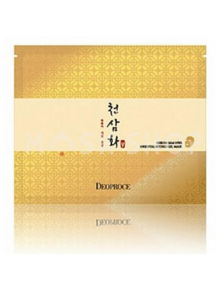 Антивозрастная гидрогелевая маска для лица Deoproce Cheon Sam Hwa Oriental Hydro Gel Mask