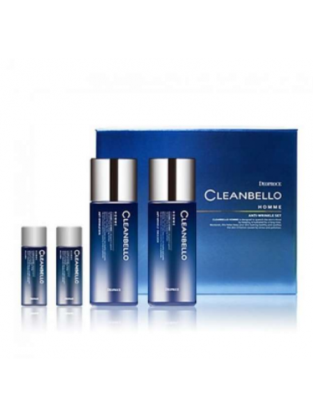 Deoproce Cleanbello Homme Anti-Wrinkle Set Набор уходовый мужской