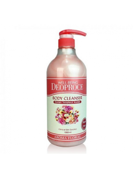 Deoproce Well-Being Body Clleanser Aroma  Floral Гель для душа цветочный