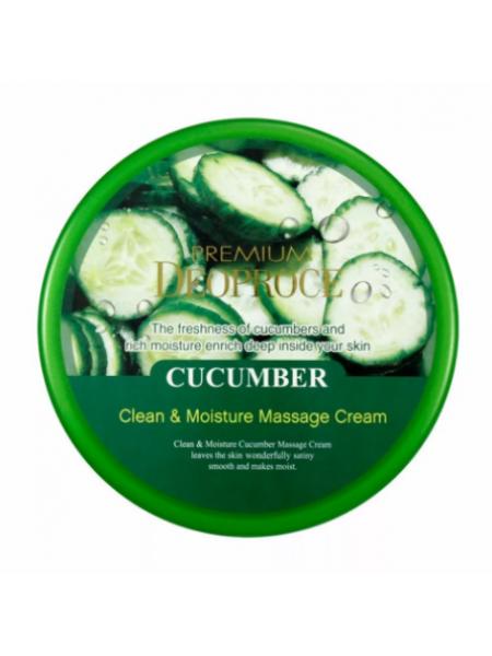 Deoproce Premium Moisture Cucumber Massage cream Очищающий массажный крем с огурцом