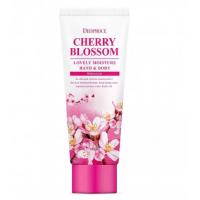 Увлажняющий крем для кожи рук и тела Deoproce Cherry Blossom Lovely Moisture Hand & Body