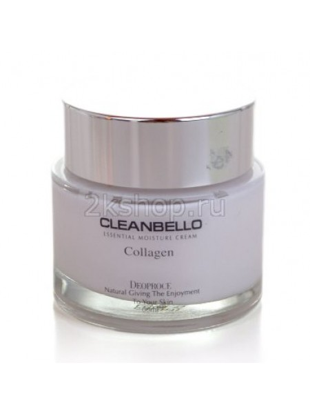 Deoproce Cleanbello Collagen Essential Moisture cream Крем для лица с коллагеном