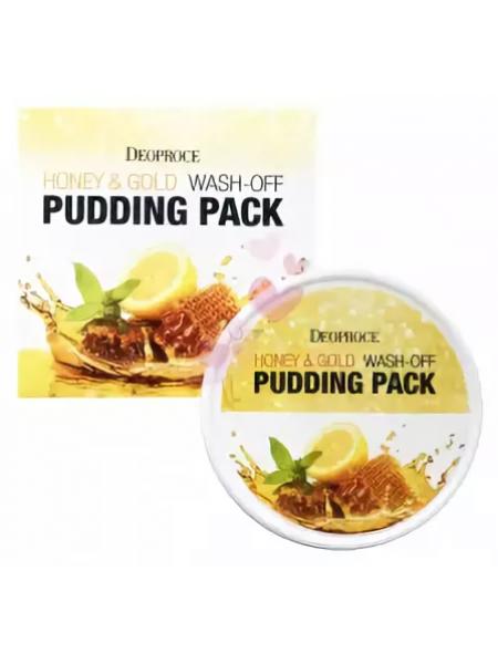 Deoproce Honey&Gold Wash-Off Pudding Pack Смываемая маска-пудинг с медом и золотом