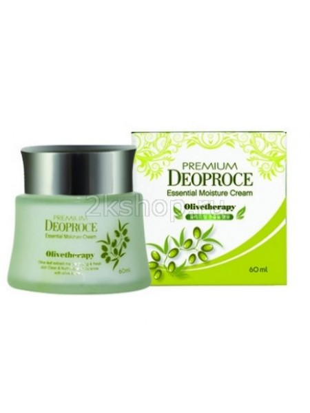 Deoproce Premium Olivetherapy Essential Moisture Cream Крем увлажняющий с маслом оливы