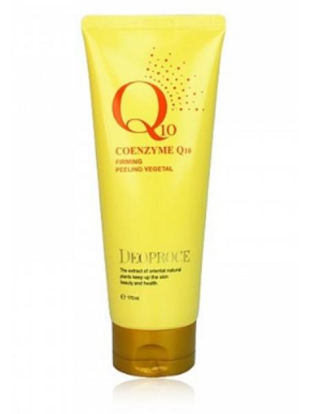 Deoproce Coenzyme Q10 Firming Peeling Vegetal Пилинг скатка с коэнзимом Q10