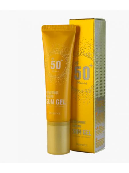 Deoproce Hyaluronic Cooling Sun Gel Гель солнцезащитный освежающий c гиалуроновой кислотой