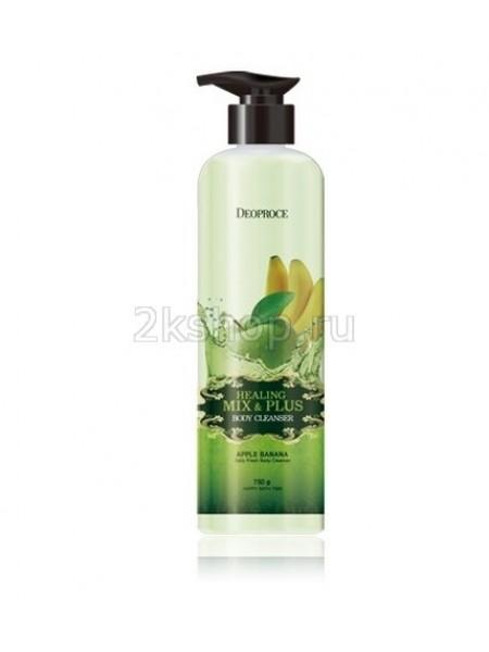 Deoproce Healing Mix & Plus Body Cleanser  Apple Banana Гель для душа яблочно-банановый