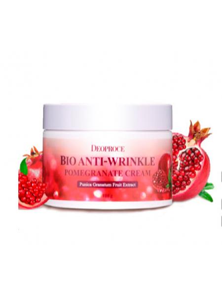 Deoproce BIO Anti-Wrinkle Pomegranate Cream Биокрем против морщин с экстрактом граната