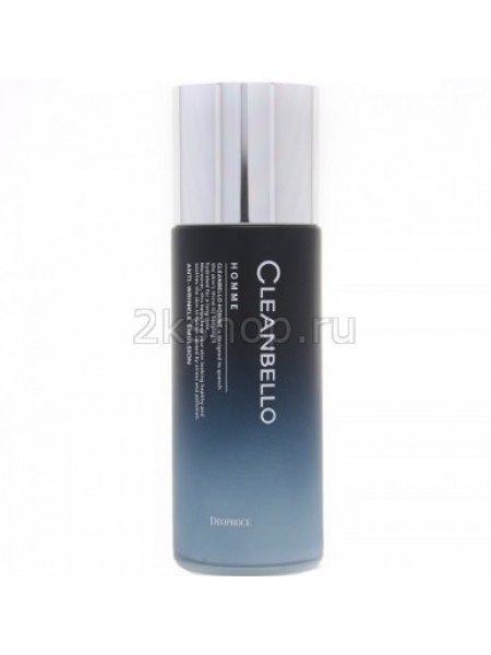 Deoproce Cleanbello Homme Anti-Wrinkle Emulsion Эмульсия мужская антивозрастная
