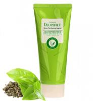 Пилинг скатка c зеленым чаем Deoproce Premium green tea peeling vegetal